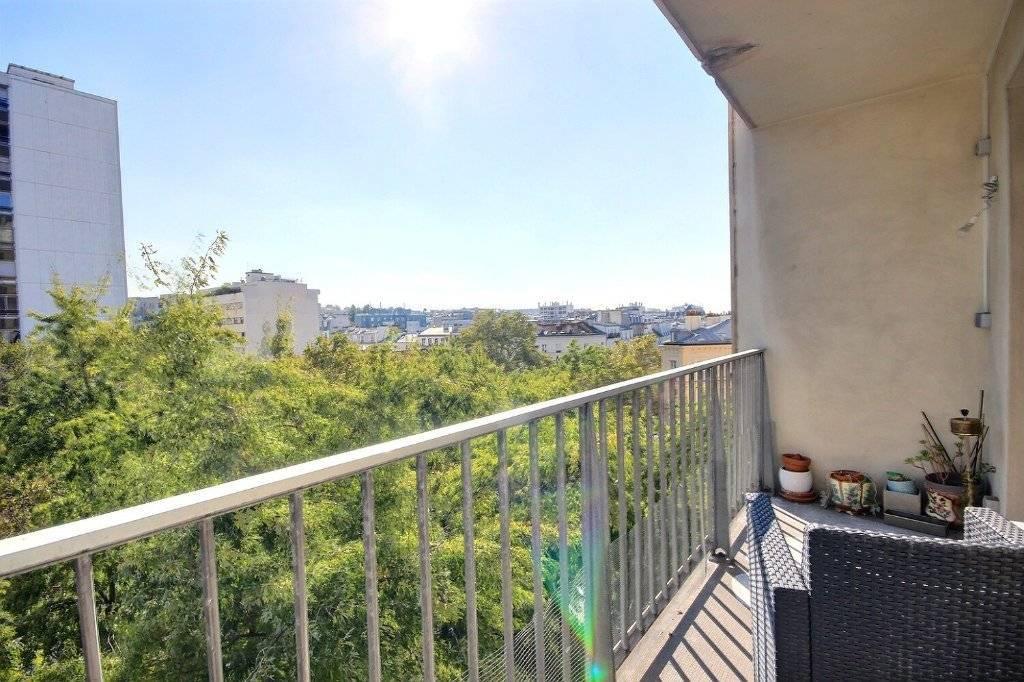PARIS XIX / LAUMIERE - 3P balcon cave et parking