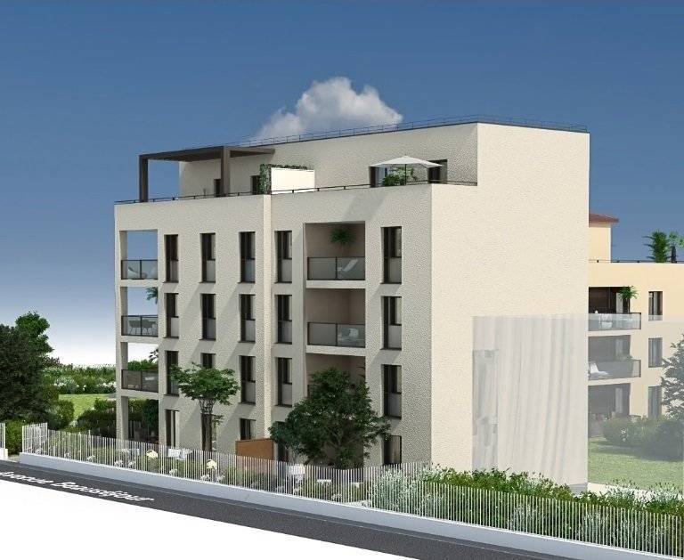 5 pieces duplex de 102m² sur 22m² de terrasse