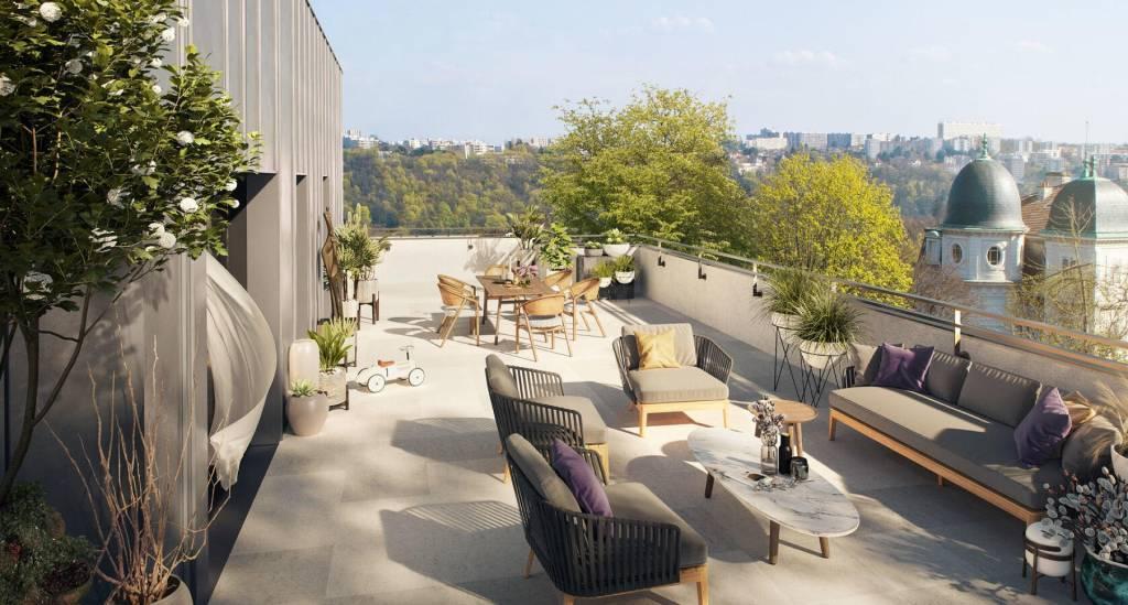 5 pieces de 133m² sur terrasse de 122m²